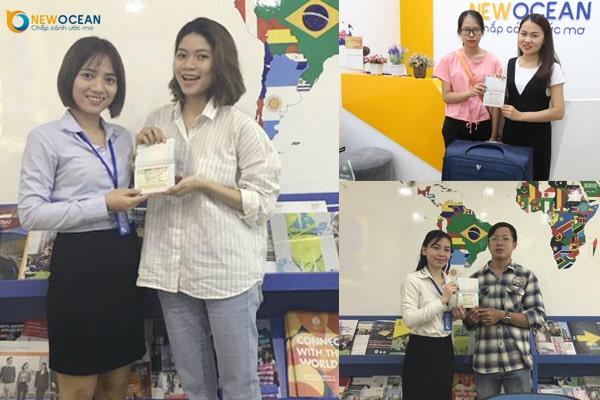 Các bạn học sinh của New Ocean nhận Visa du học Canada chương trình SDS