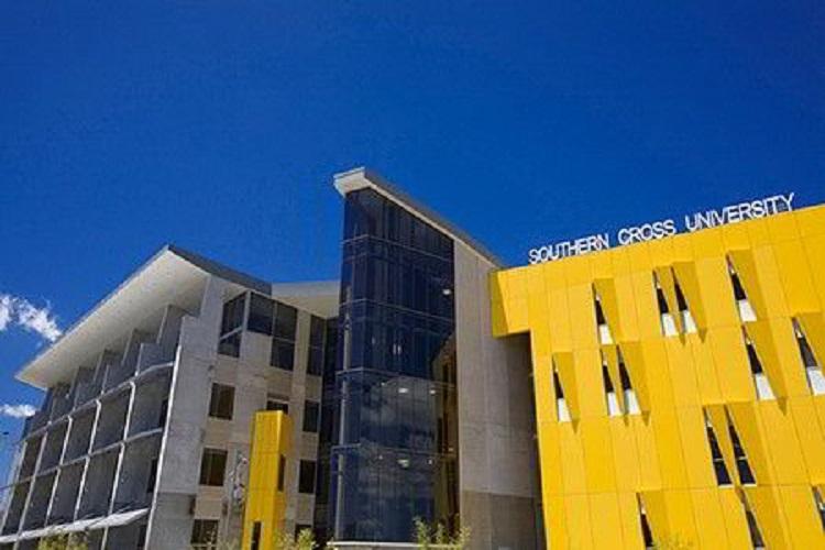 Phía chính diện khuôn viên trường SCU – Gold Coast Campus