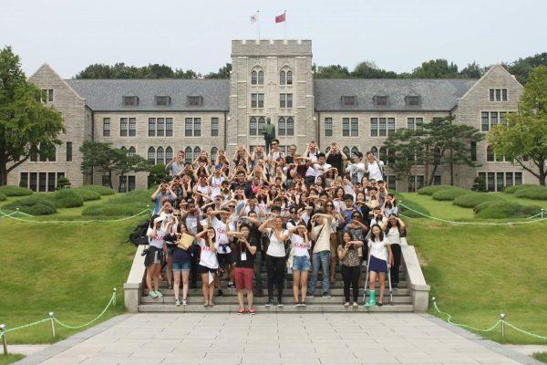 Du học sinh quốc tế tại trường đại học Korea