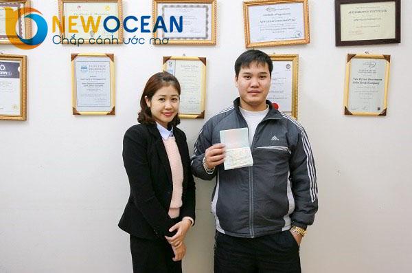 Chúc mừng Phạm Đức Toàn nhận Visa du học Trung Quốc