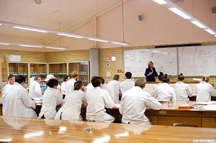 Một trong những phòng thí nghiệm, thực hành của trường SCU