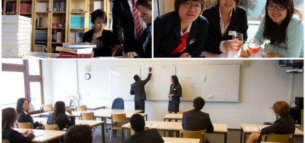 Môi trường học tập thoải mái, năng động của sinh viên Swiss IM&H