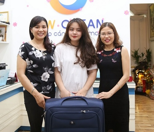 Chúc mừng Nguyễn Ngọc Oánh nhận Visa du học Canada