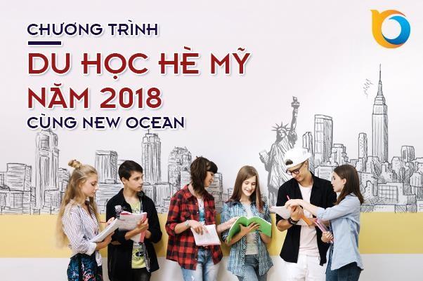 Chương trình du học hè Mỹ năm 2018 cùng New Ocean