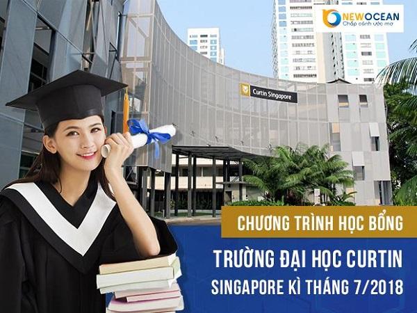 Chương trình học bổng trường Đại học Curtin Singapore T7/2018