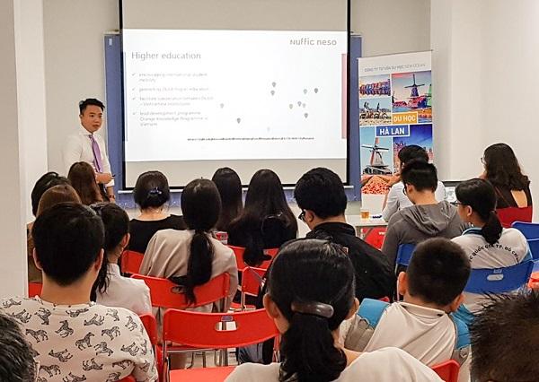 Mr. Phạm Đình Bảng chia sẻ kinh nghiệm du học Hà Lan