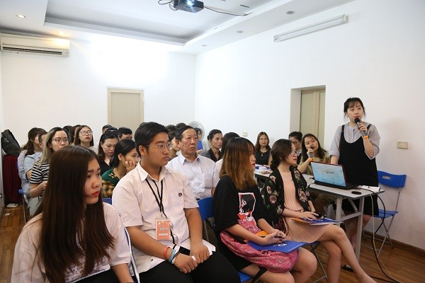 Ms. Daae Park – đại diện tuyển sinh trường Đại học Konkuk