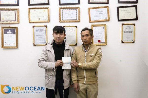 """Chúc mừng Lê Văn Tất nhận Visa du học Hàn Quốc """"Học để biết, học để làm việc...."""