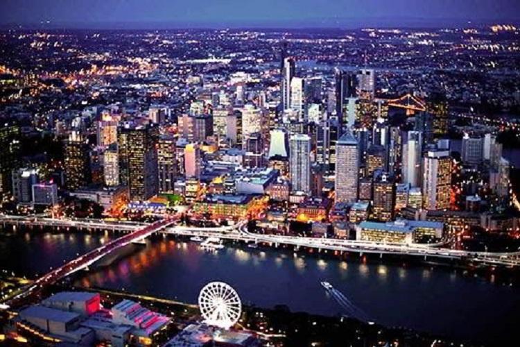 Quang cảnh thành phố Brisbane