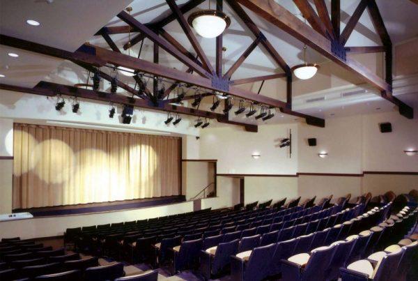 Phòng biểu diễn nghệ thuật của trường SFHC
