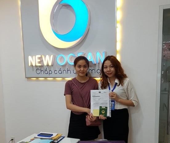 Visa du học Singapore Dư Thị Hoài Thương