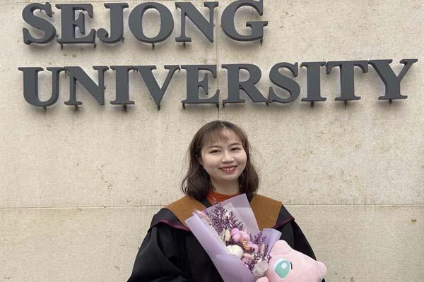 Cập nhật T2.2020: Huyền Anh đã hoàn thành xuất sắc chương trình MBA tại Đại học Sejong