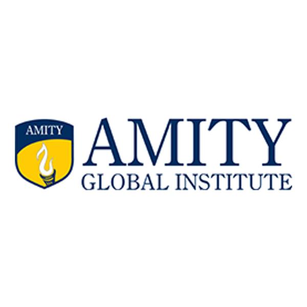 Logo của Học viện quốc tế Amity