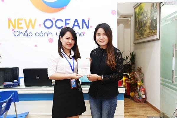 Cao Thị Huyền nhận Visa du học Canada trường Centenial College