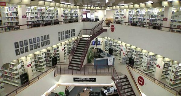 Thư viện trường cao đẳng Fanshawe