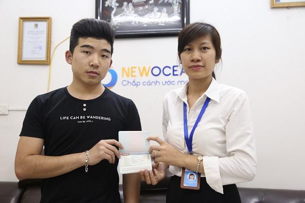 Chúc mừng Visa du học Hàn Quốc Lý Ngọc Thuận