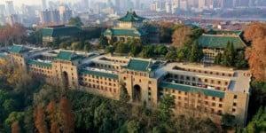 Trường Đại học nhìn từ trên cao