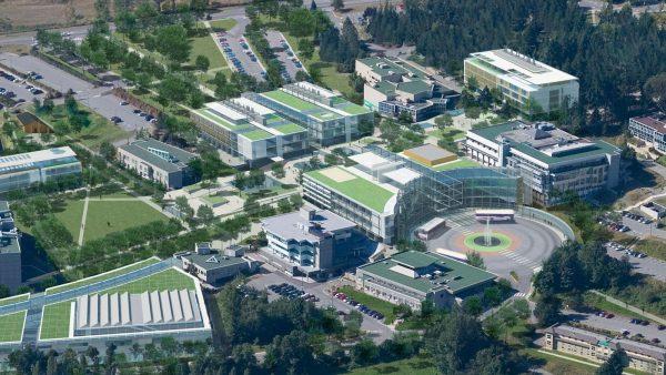 Khuôn viên trường đại học Vancouver Island