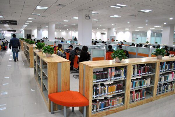 Thư viện mới - hiện đại và yên tĩnh