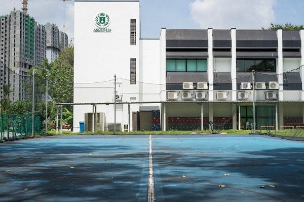 Khuôn viên trường quốc tế Ascensia
