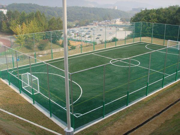 Sân bóng mini phục vụ nhu cầu thể thao giải trí