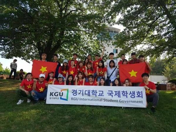 Hội du học sinh Việt Nam ở trường đại học Kyonggi