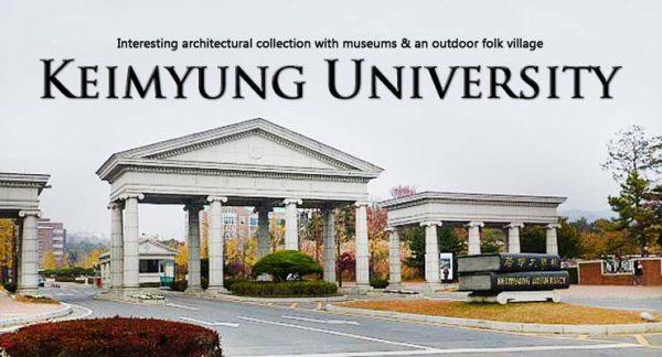 Trường đại học Keimyung, Hàn Quốc