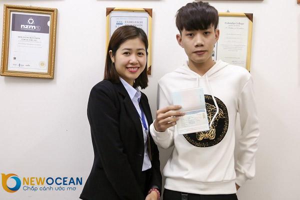 Chúc mừng Visa du học Hàn Quốc Nguyễn Đăng Công