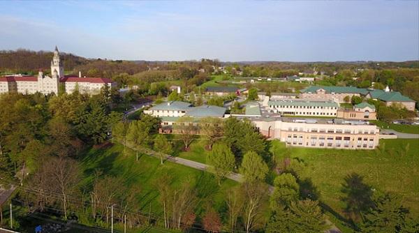Ngôi trường nhìn từ trên cao