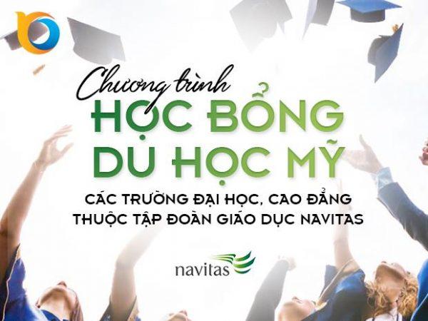 Học bổng du học Mỹ các trường Đại học, Cao đẳng thuộc Tập đoàn giáo dục Navitas