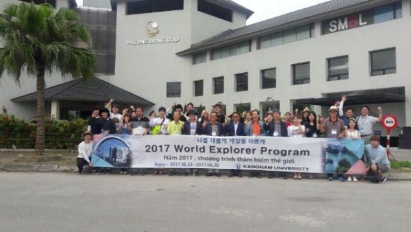 Hoạt động của hội học sinh Việt Nam tại trường đại học Kangnam