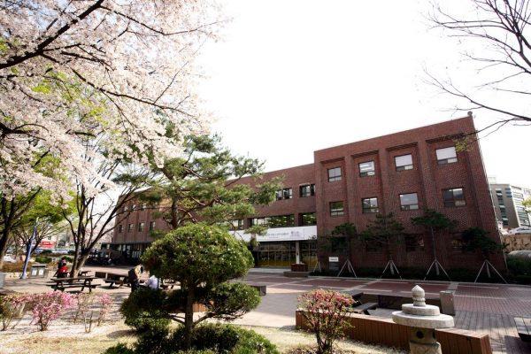 Khuôn viên trường cao đẳng Yeungjin