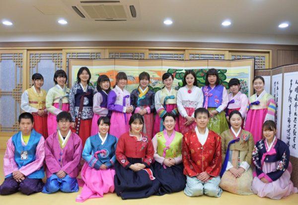 Hoạt động ngoại khóa tìm hiểu văn hóa Hàn Quốc