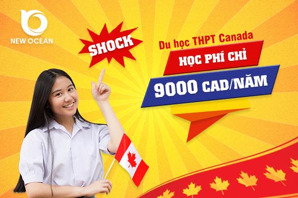 Chương trình du học THPT Canada với học phí cực rẻ