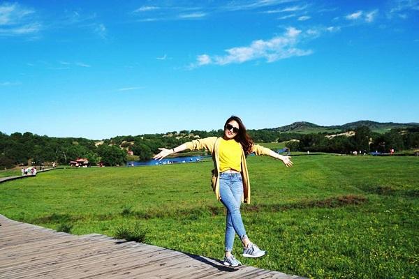 Nội Mông cổ là nơi phải đến một lần để ngắm những thảo nguyên xanh mướt