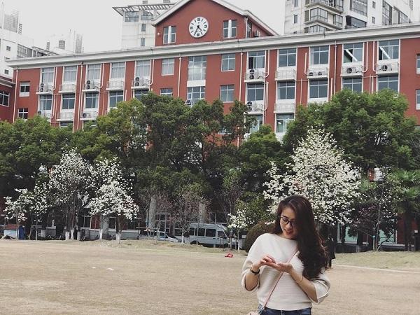 Cô bạn Nguyễn Thị Huyền đã có những cảm nhận tốt đẹp về cuộc sống tại Trung Quốc