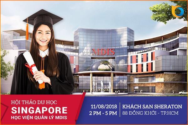 Hội thảo du học Thông minh tại Singapore