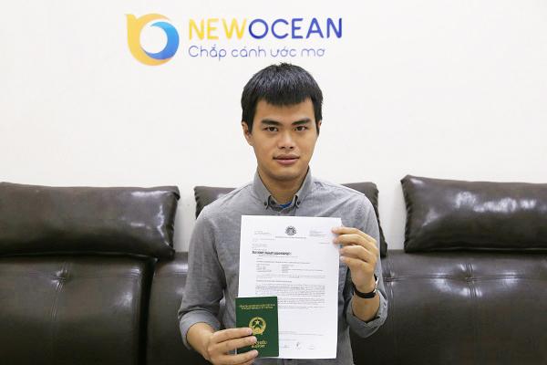 Chúc mừng Visa du học Singapore Nguyễn Hải Đăng