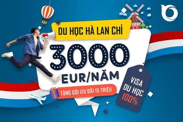 Cực sốc: Du học Hà Lan với học phí chỉ 300 EUR/năm