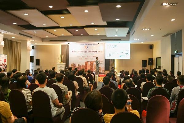 Tại TP. Hồ Chí Minh, nhiều quý phụ huynh rất quan tâm đến chương trình du học Singapore này