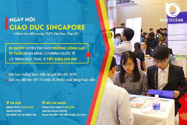 Ngày hội giáo dục Singapore năm 2018