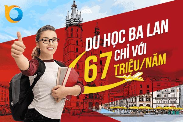 Du học Ba Lan với học phí rẻ