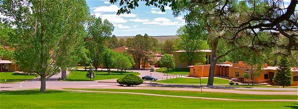 Một góc Trường trung học Fountain Valley