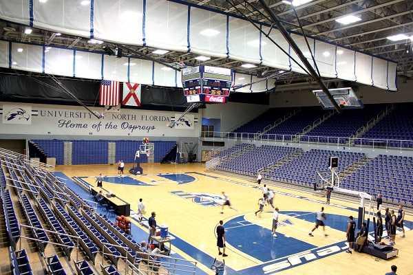 Phòng bóng rổ Đại học Bắc Florida