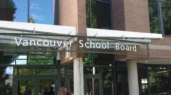 Hội đồng trường Vancouver là một trong những điểm trường tốt nhất Canada