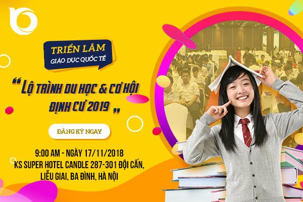 Ngày hội giáo dục quốc tế diễn ra tại Hà Nội