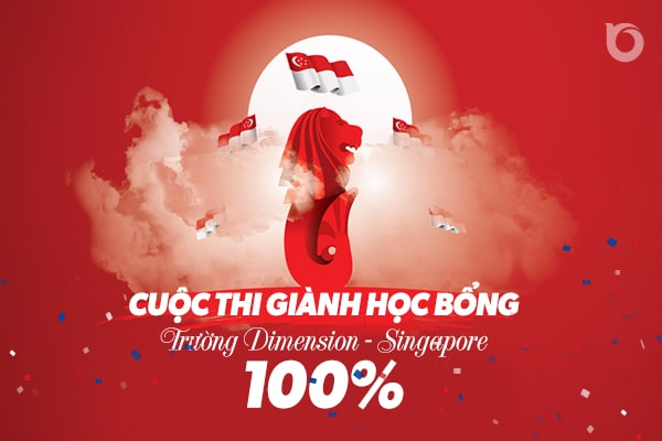 Học bổng 100% trường Dimensions College