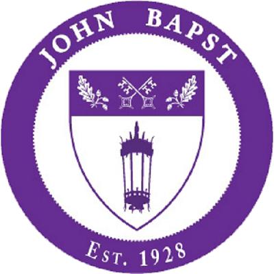 Logo trường trung học John Bapst