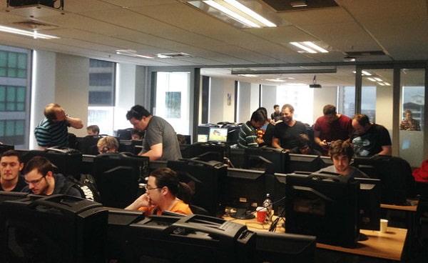 Phòng học ở Media Design School