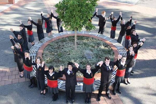 Học sinh Trường trung học Pukekohe đến từ nhiều quốc gia trên thế giới